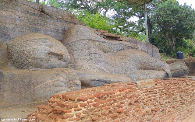 Buddha in Mahaparinirwana State - Gal Vihara