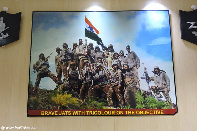 Holding the Indian Flag High - War Heroes