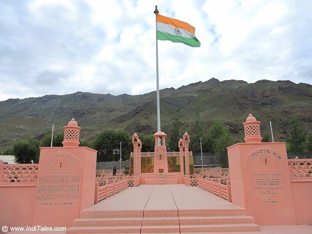 Drass War Memorial - Kargil, India