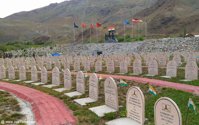 Veer Bhumi - Drass War Memorial, Kargil, India