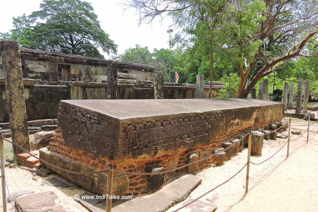 Gal Potha or the Stone Book - Polonnaruwa