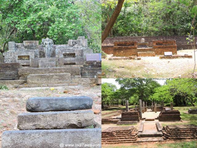 Hindu Temples among the ruins