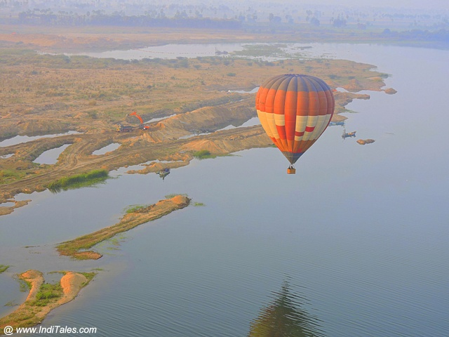 Hot Air Balloon ride at Amaravati