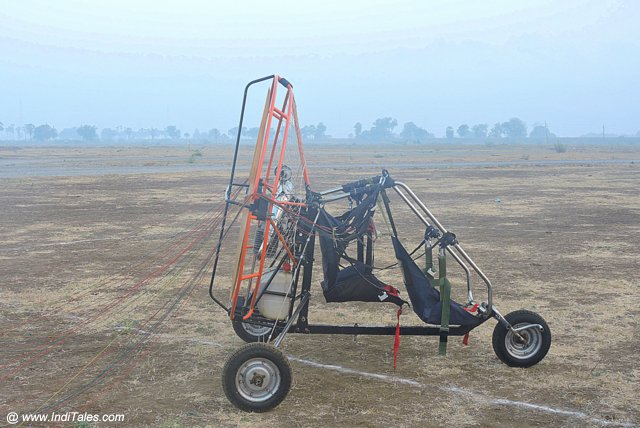 Powered Paraglider or Paramotor