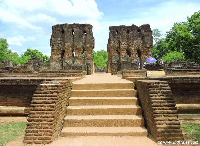 Royal Palace at the Inner City of Polonnaruwa