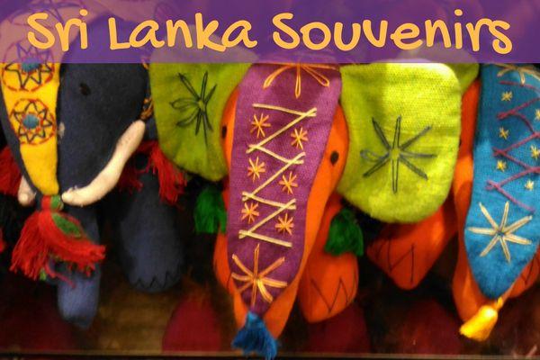 Sri Lanka Souvenirs