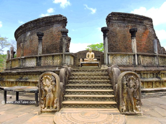 Vatadage - the most beautiful of Polonnaruwa structures
