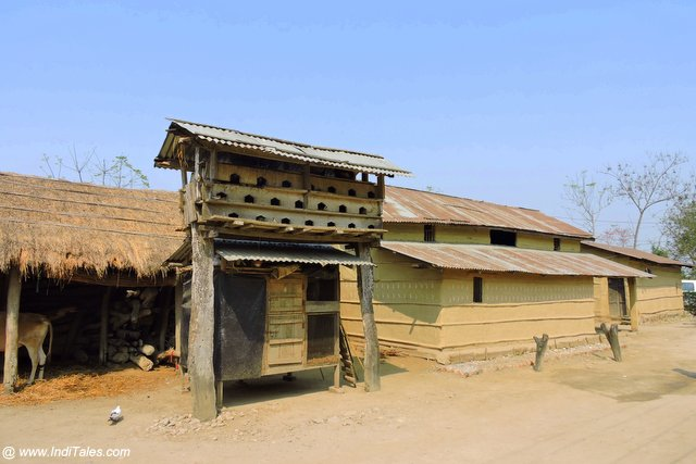 Bird House Outside a Tharu Home