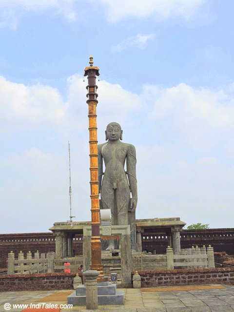 Gomateshwara statue at Karkala