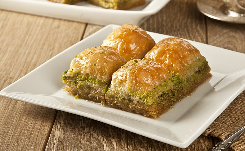 Baklava - Vegetarian Food in Turkey