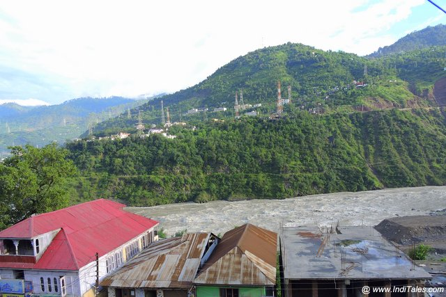 Chenab at Ramban - on Delhi-Srinagar-Leh Road Trip