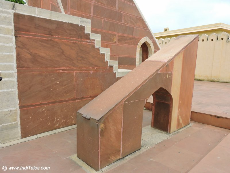 Dhruv Darshika or North Pole View Yantra - Jantar Mantar Jaipur