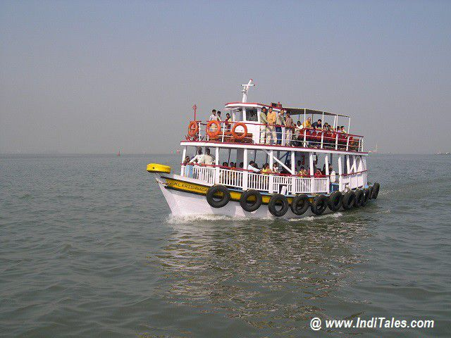 Ferry Ride to Elephanta Caves