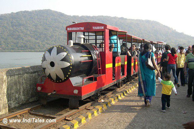 Toy Train at Elephanta Caves