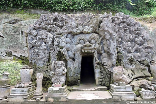 Goa Gajah - The Cave Temple of Bali