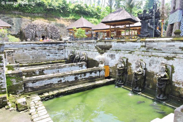 Water Tank at Goa Gajah Temple - Bali