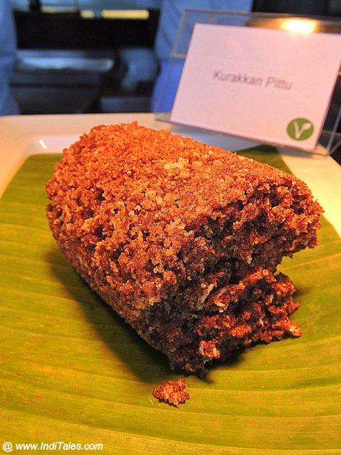 Kurakkan Pitha or steamed Ragi Idiyappam