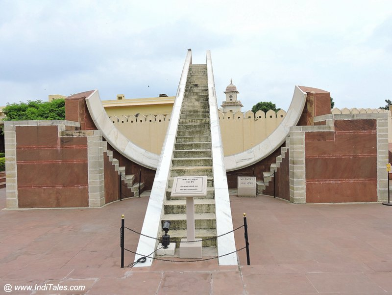Small or Laghu Samrat Yantra - Jantar Mantar at Jaipur