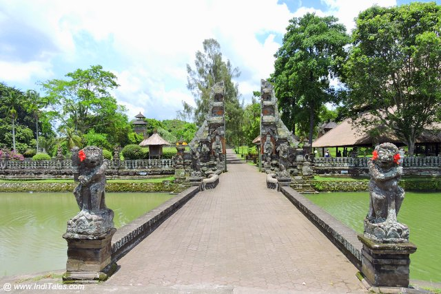 Entrance of Pura Taman Ayun - The royal temple of Bali