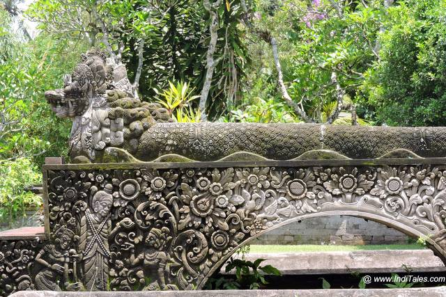 Ornate Balustrade - Taman Ayun Temple - Bali
