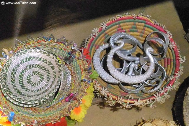 Tharu Tribal Jewelry in Silver