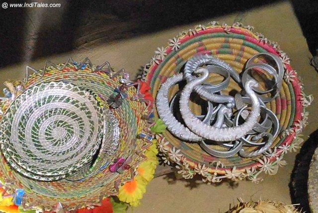 Tharu Tribe Jewelry in Silver