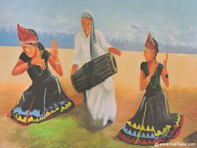 Tharu Tribal Dance - Nepal