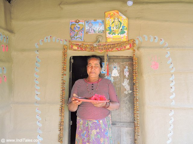 Visiting a Tharu Tribal home
