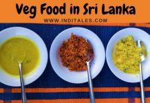 Vegetarian Food in Sri Lanka