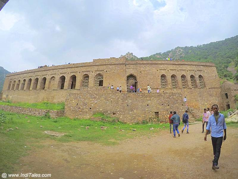 Main Palace of the Bhangarh Fort