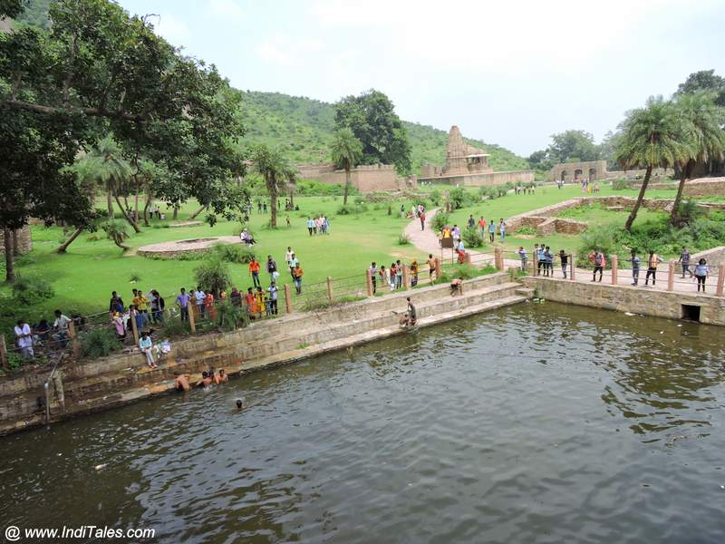 View from Someshwara Temple at Bhangarh Fort