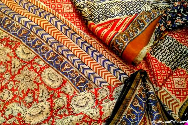 Block Printed Fabric from Sanganer & Bagru