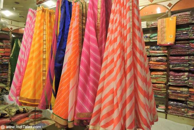 The Lehariya Saris - Must Buy in Jaipur
