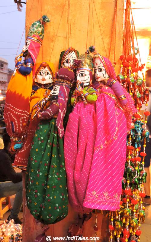 Puppets as Jaipur Souvenirs
