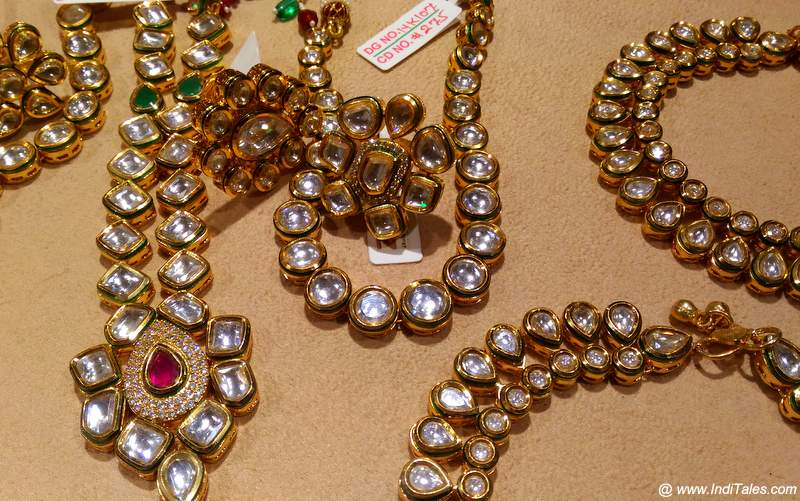 The Kundan or Polki Jewelry from Jaipur