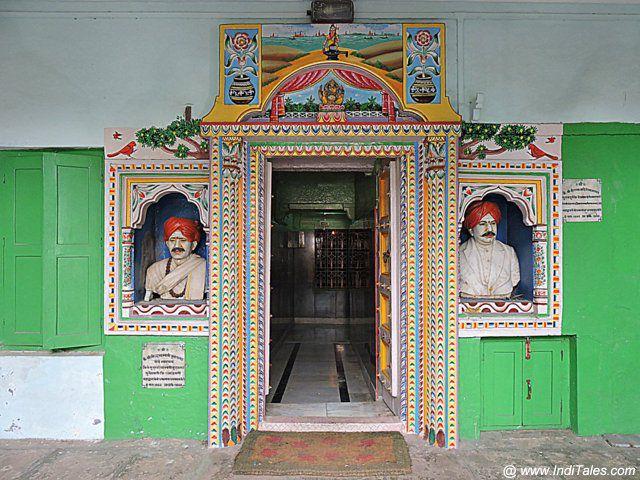 Jangamwadi Temple Door - Varanasi