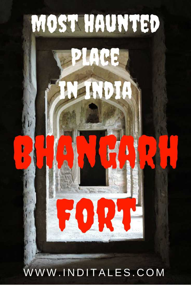India's most haunted place - Bhangarh Fort