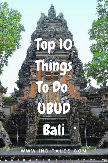 Top 10 Things To Do in Ubud Bali