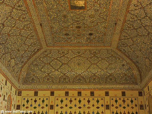 Details of Sheesh Mahal Ceiling