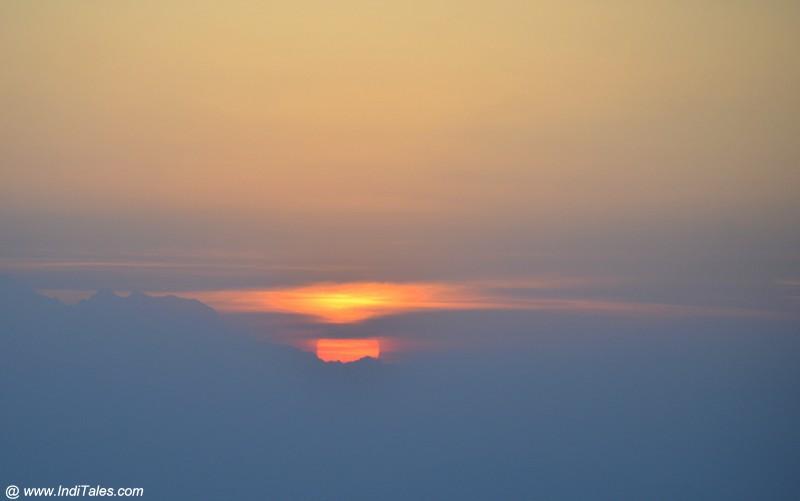 Binsar Sunrise Scene