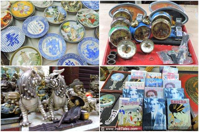 Antiques at Cat Street Antique Market - Hong Kong