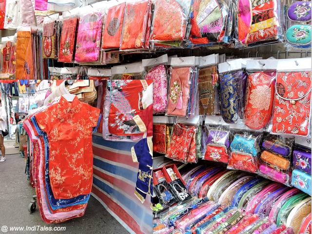 Chinese Silk Souvenirs from Hong Kong