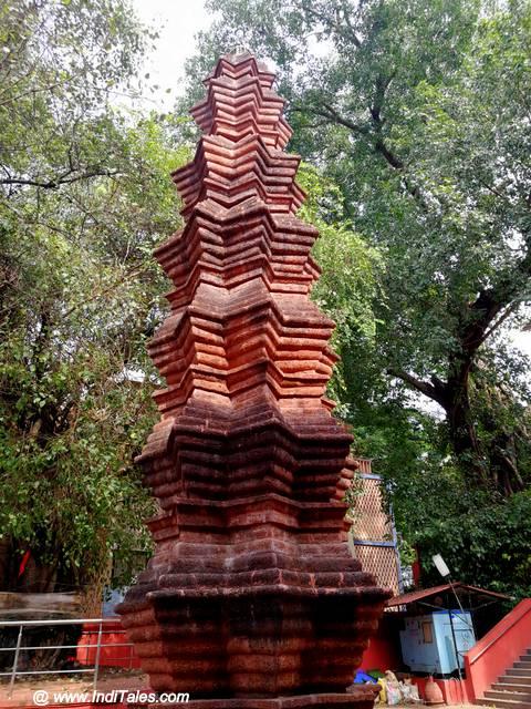 Unique Deepstambh at Mahalakshmi Temple