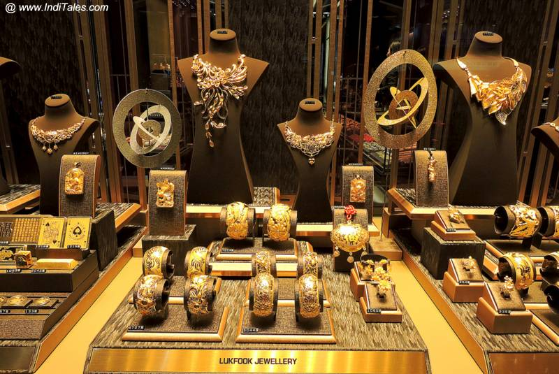 Gold Jewelry from Hong Kong