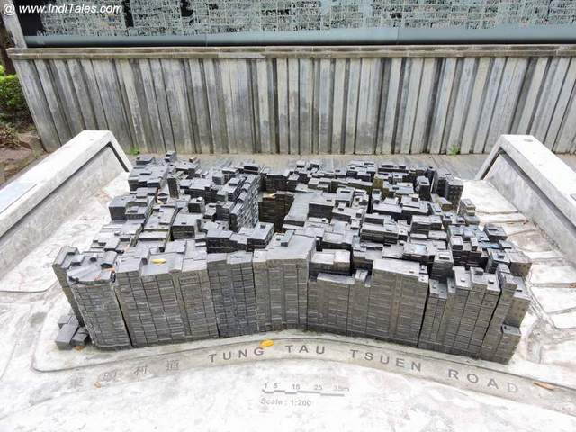 Model of the Kowloon Walled City