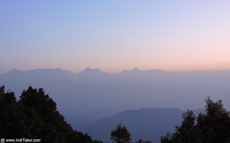 Landscape view of Himalayas