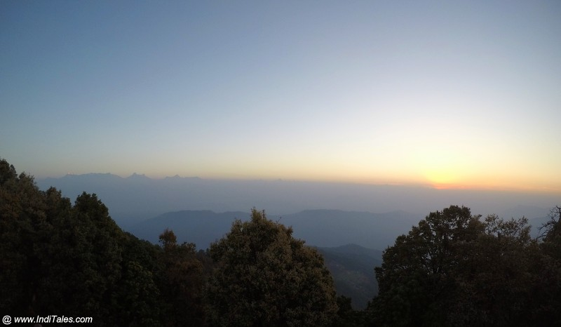 Landscape view at Binsar