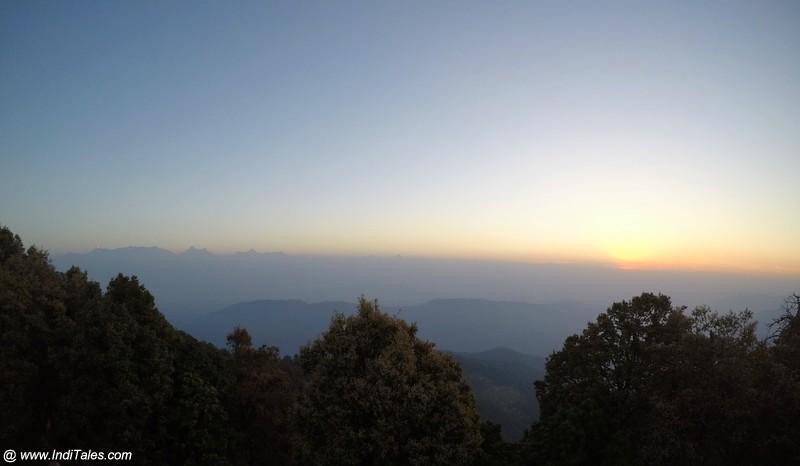 Landscape view at Binsar