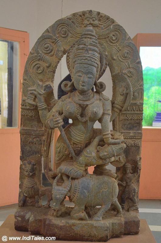 Mahishasurmardini at Goa State Museum - Panaji