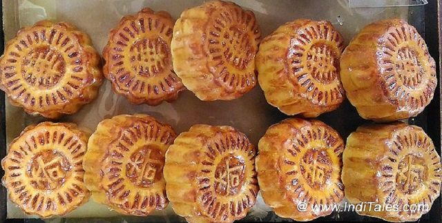 Mooncakes from Hong Kong